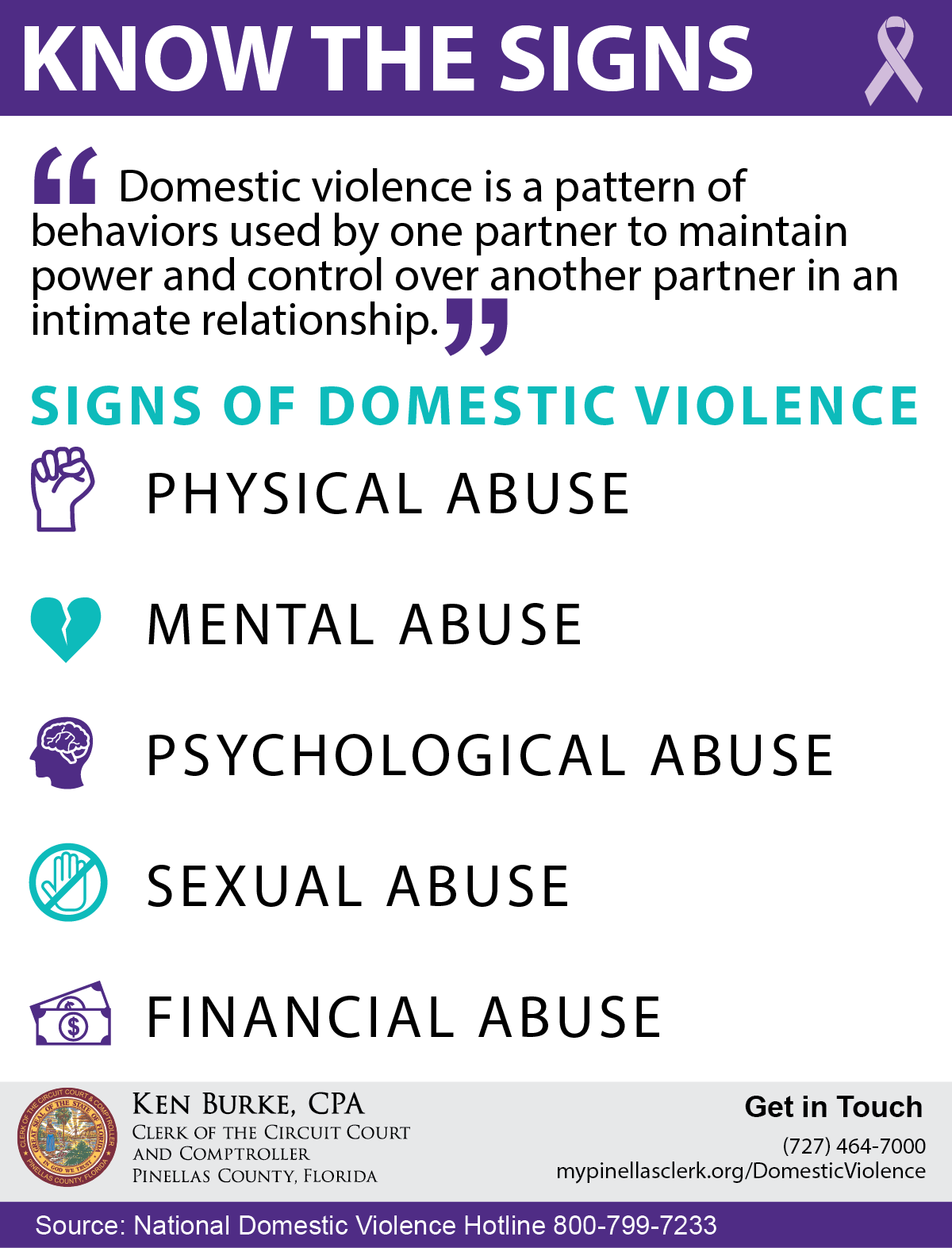 Domestic Violence Infographic 1