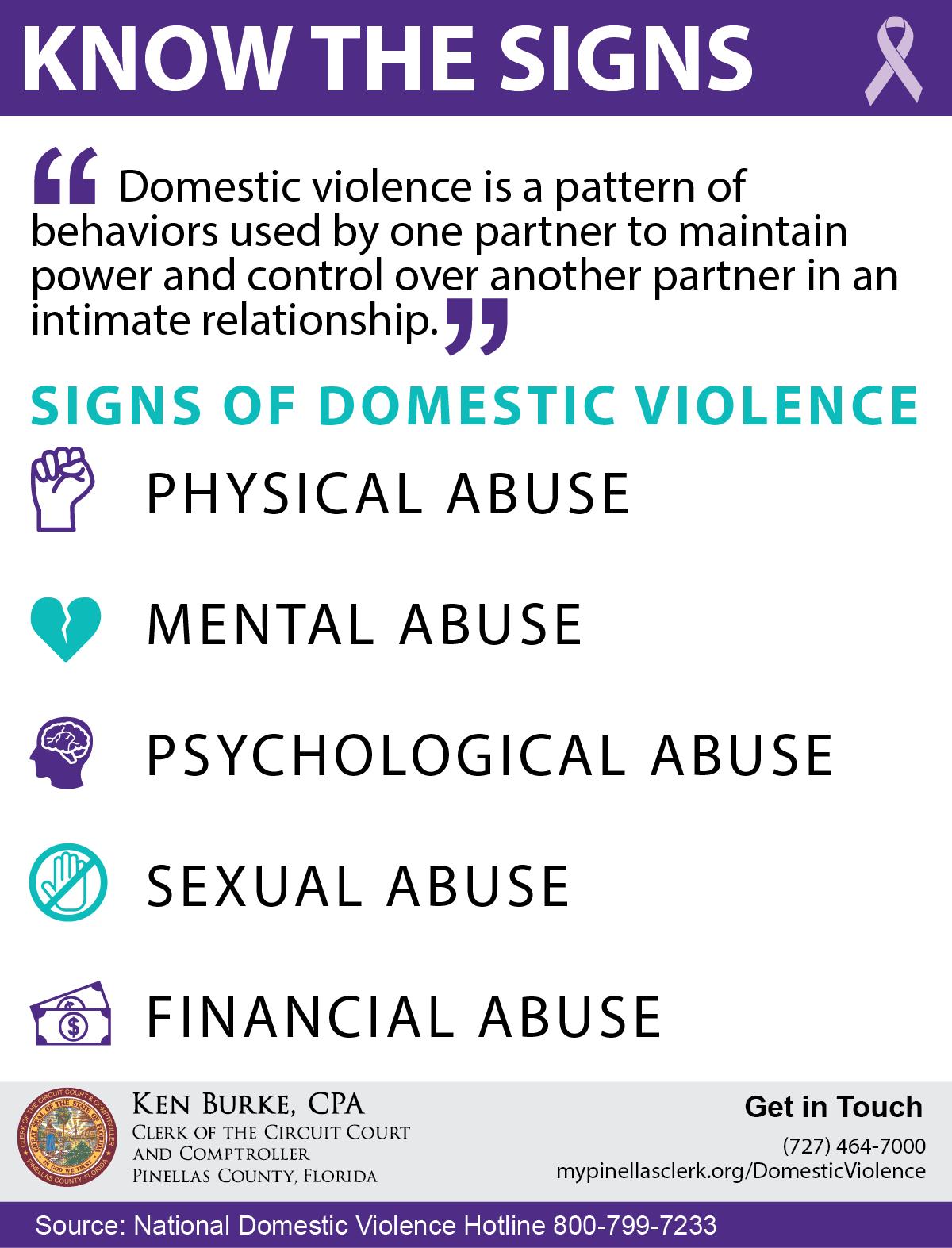 Domestic Violence / Restraining Orders