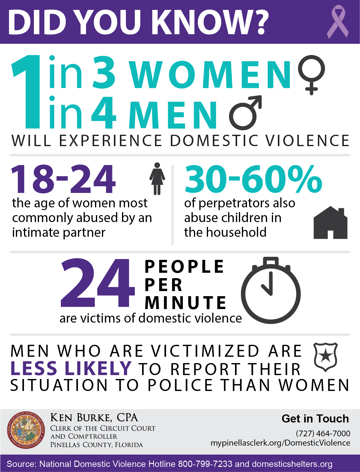 Domestic Violence Infographic 2