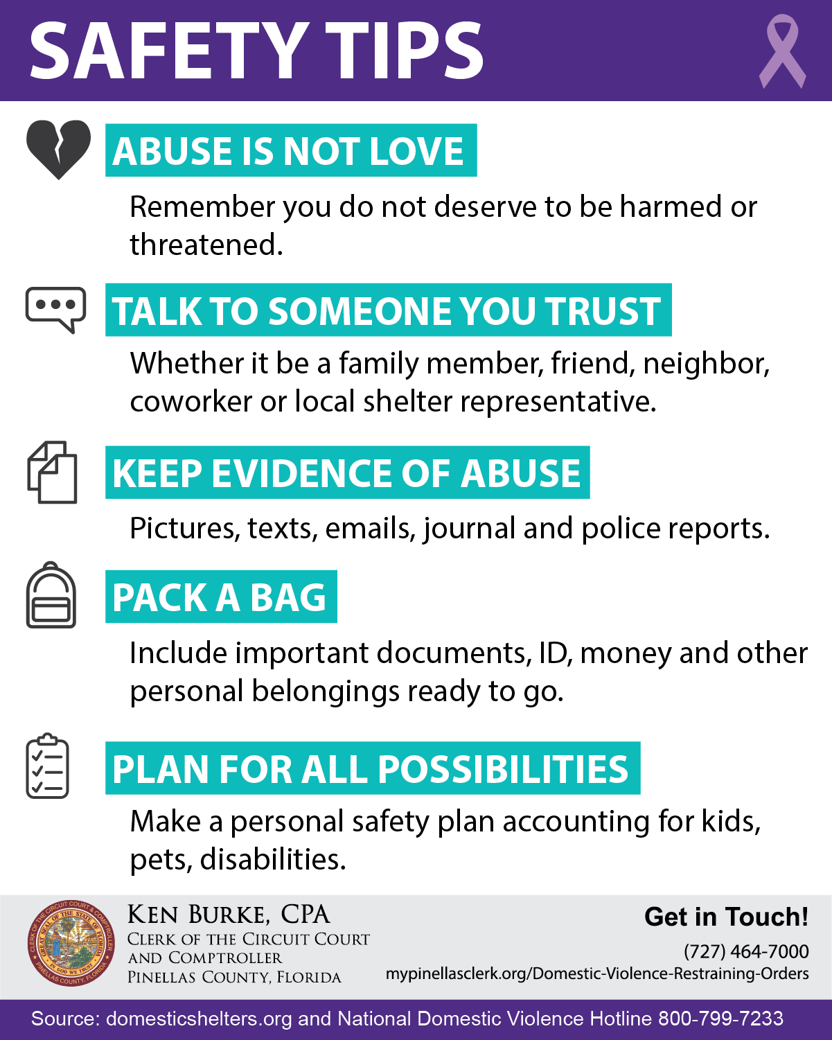 Domestic Violence Infographic 6