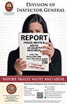 Report Fraud, Waste or Abuse
